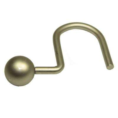 Ball Hooks in Satin Nickel (12-Pack)