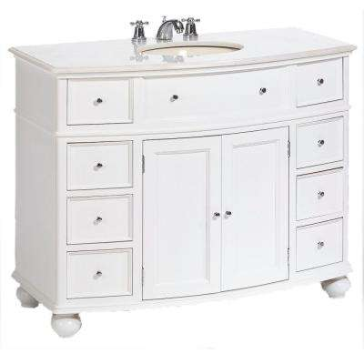 Single Sink Vanities With Tops Bathroom Vanities The Home Depot - Replace bathroom vanity mobile home