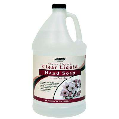 1 Gal. Hand Soap Cherry Blossom Clear Liquid