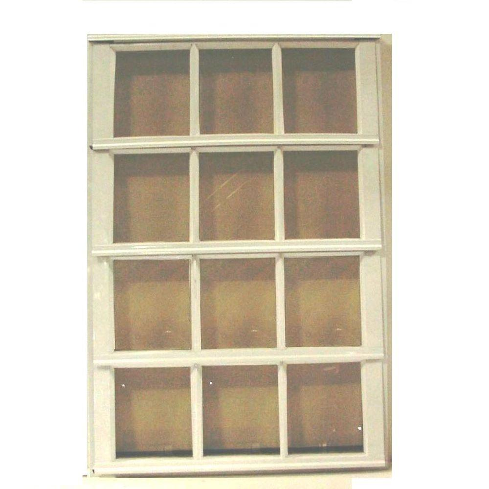 Air Master Windows And Doors 36 In. X 37.375 In. S9 French Security Jalousie