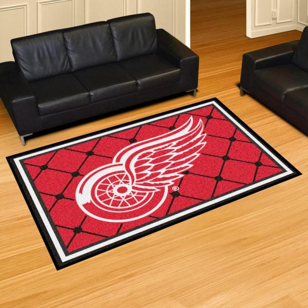 Fanmats Nhl Detroit Red Wings 5 Ft
