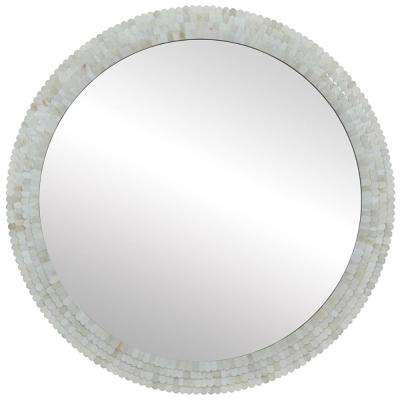 Inca 36 in. H x 36 in. W Round Mirror