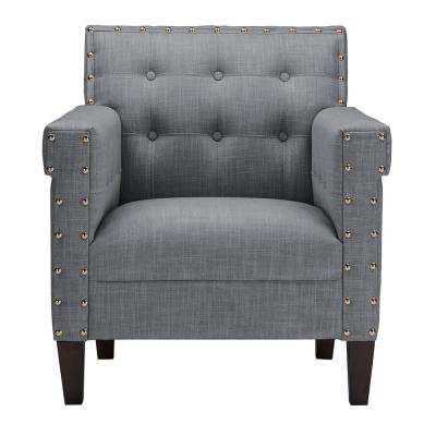 Gray - Chairs - Living Room Furniture - The Home Depot