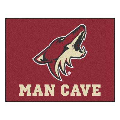Phoenix Coyotes Red Man Cave 3 ft. x 4 ft. Area Rug