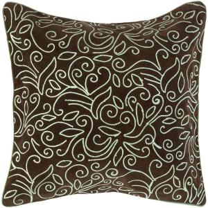 Artistic Weavers LovelyF 18 inch x 18 inch Decorative Down Pillow by Artistic Weavers