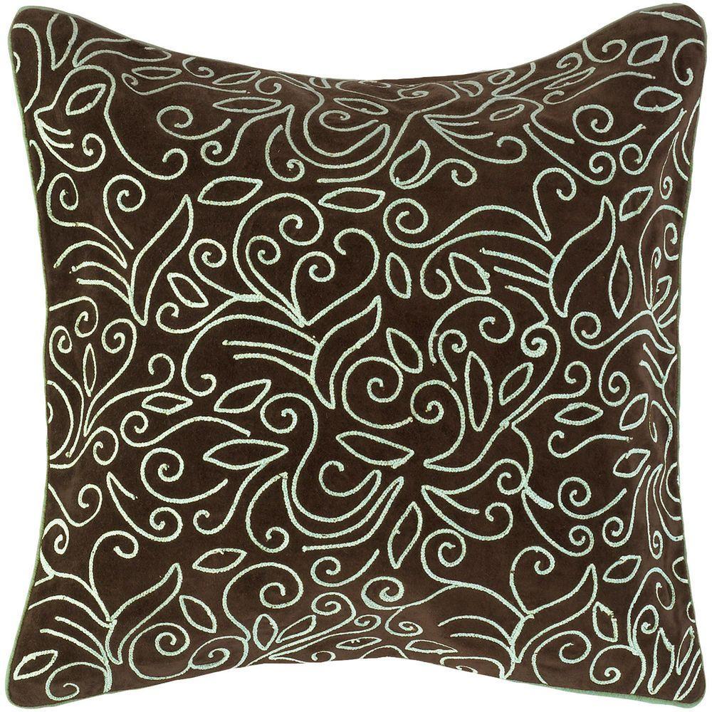 Artistic Weavers LovelyF 18 inch x 18 inch Decorative Pillow by Artistic Weavers