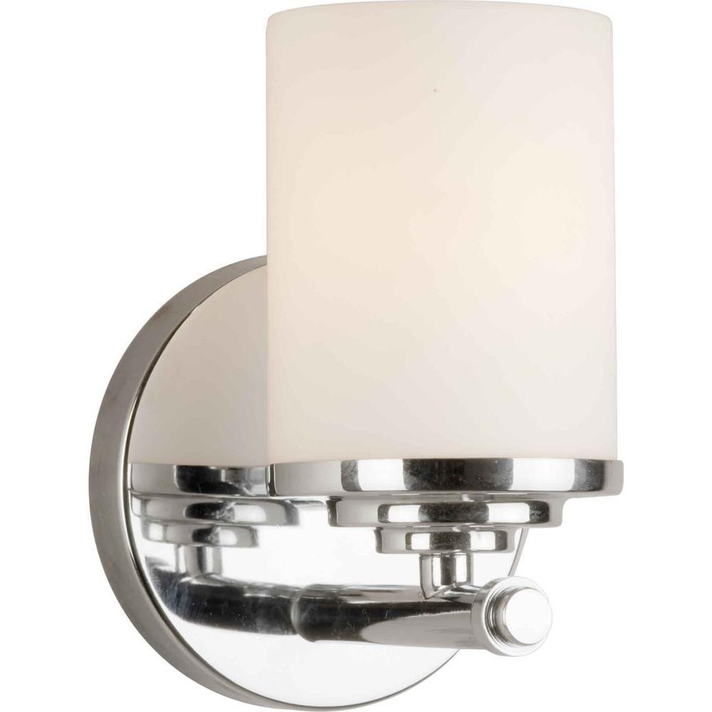Oralee 1-Light Chrome Bath Vanity Light