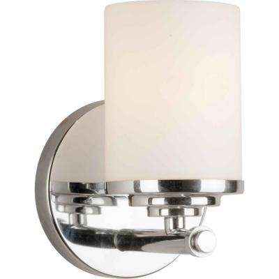 Oralee 1-Light Chrome Bath Vanity Light