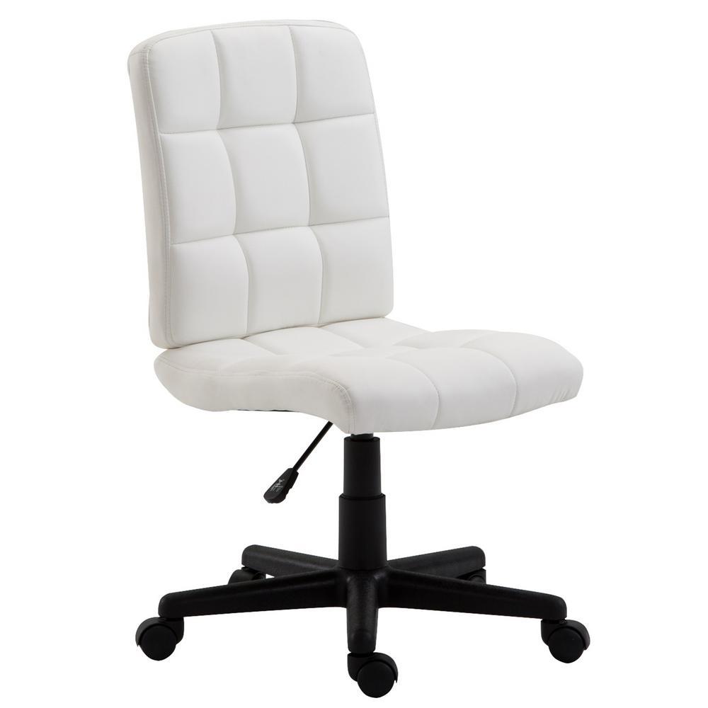 Eva White Task Chair