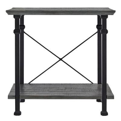 Grove Place Weathered Grey Console Table