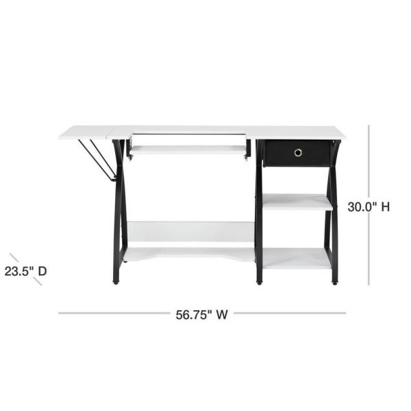 Sew Ready Comet Sewing Table Multipurpose//Sewing Desk Craft Table Sturdy Compute