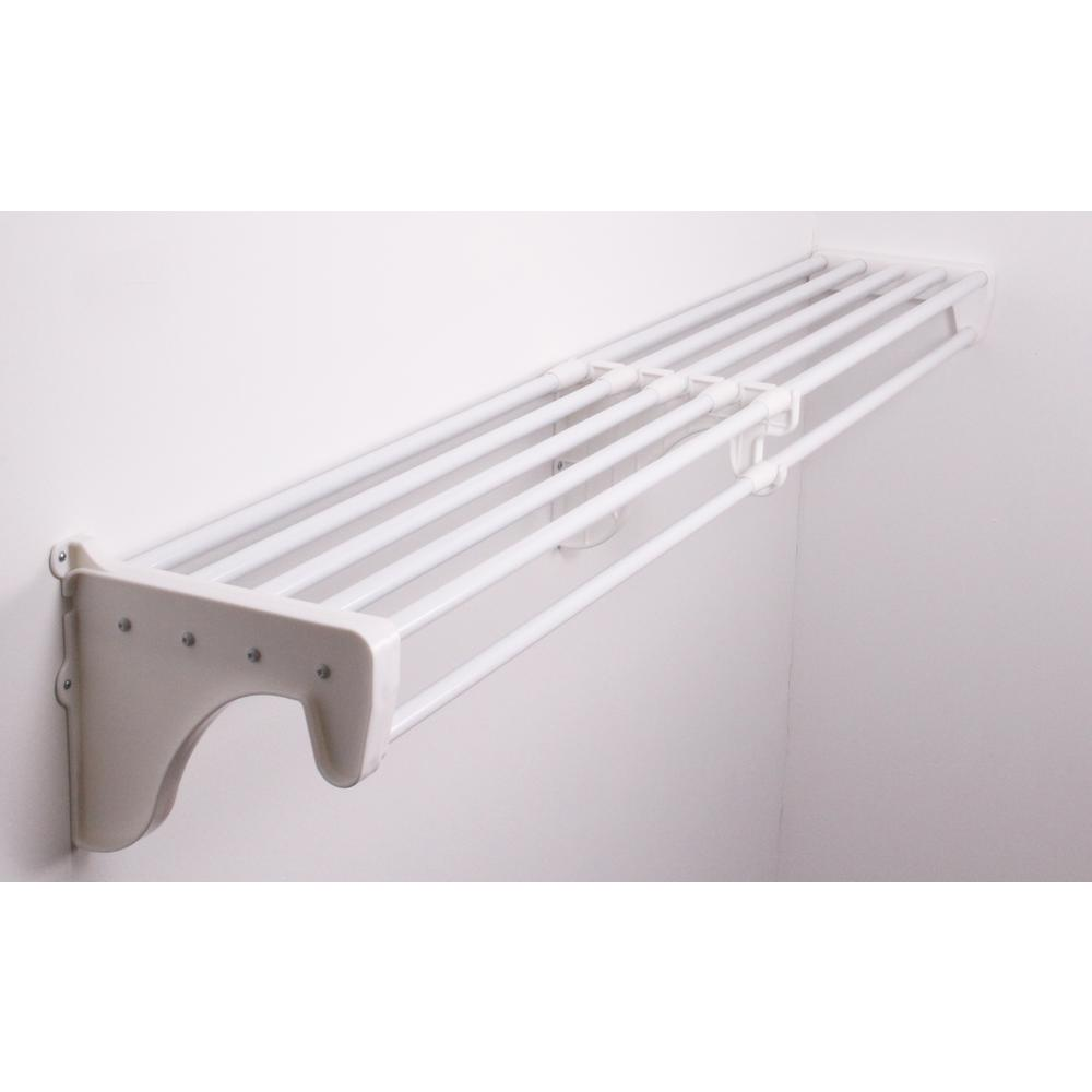 Ez Shelf 12 In D X 41 In To 74 In W X 10 5 In H Expandable