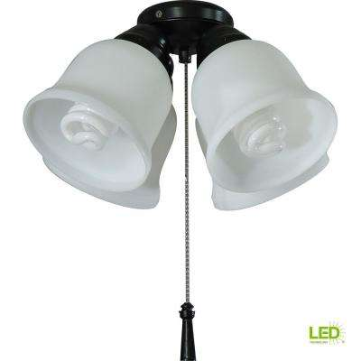 Gazelle 4-Light LED Ceiling Fan Light Kit