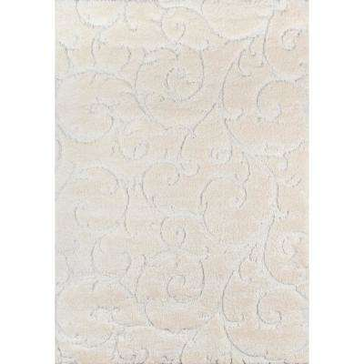 Charlotte Ivory 5 ft. X 7 ft. 6 in. Indoor Area Rug