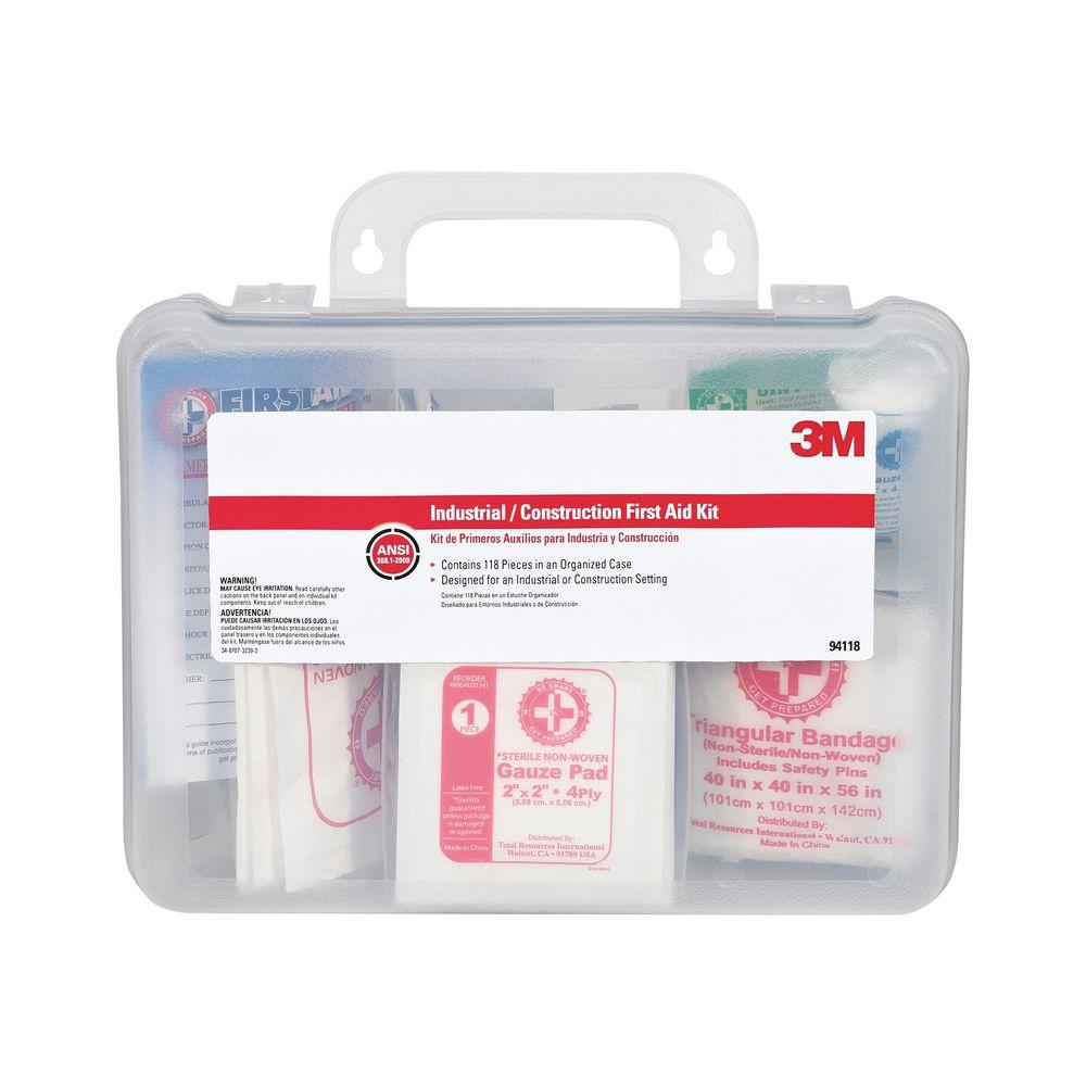 118-Piece Industrial Construction First Aid Kit 51141981079 | eBay