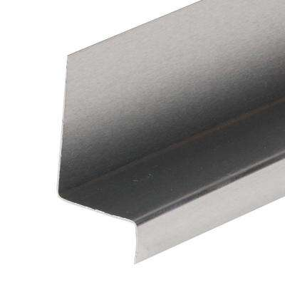 1-1/4 in. x 1-3/4 in. x 2 ft. 6 in. Mill Aluminum Window Cap