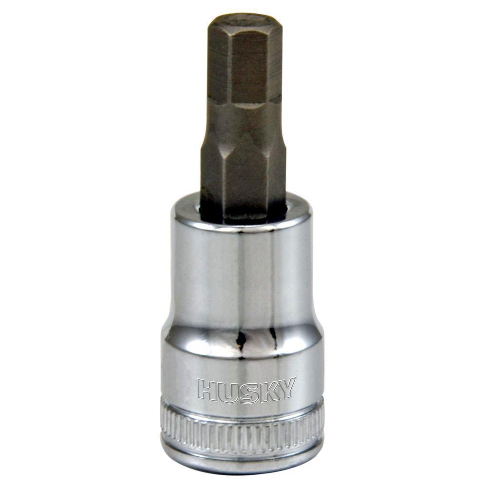 Husky 3/8 in  Drive 7 mm Hex Bit Socket