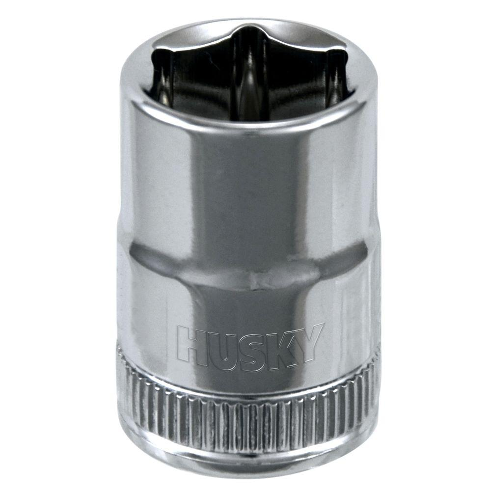Husky 3/8 in. Drive 13 mm 6-Point Metric Standard Socket