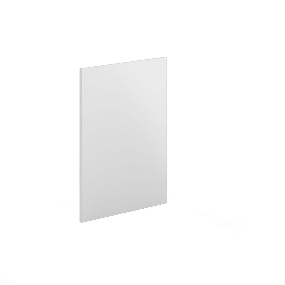 Eurostyle 24x34.5x0.75 in. Dishwasher End Panel in Painted White Melamine