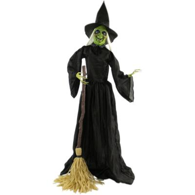 71 in. Touch Activated Animatronic Witch