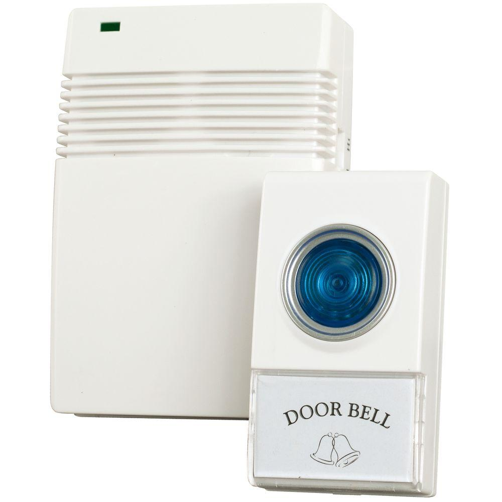 Wireless Remote Control Doorbell with 10 Different Chimes