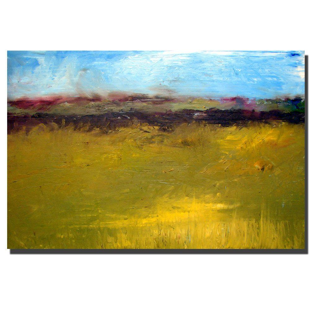 14 in. x 19 in. Abstract Landscape Highway Series Canvas Art