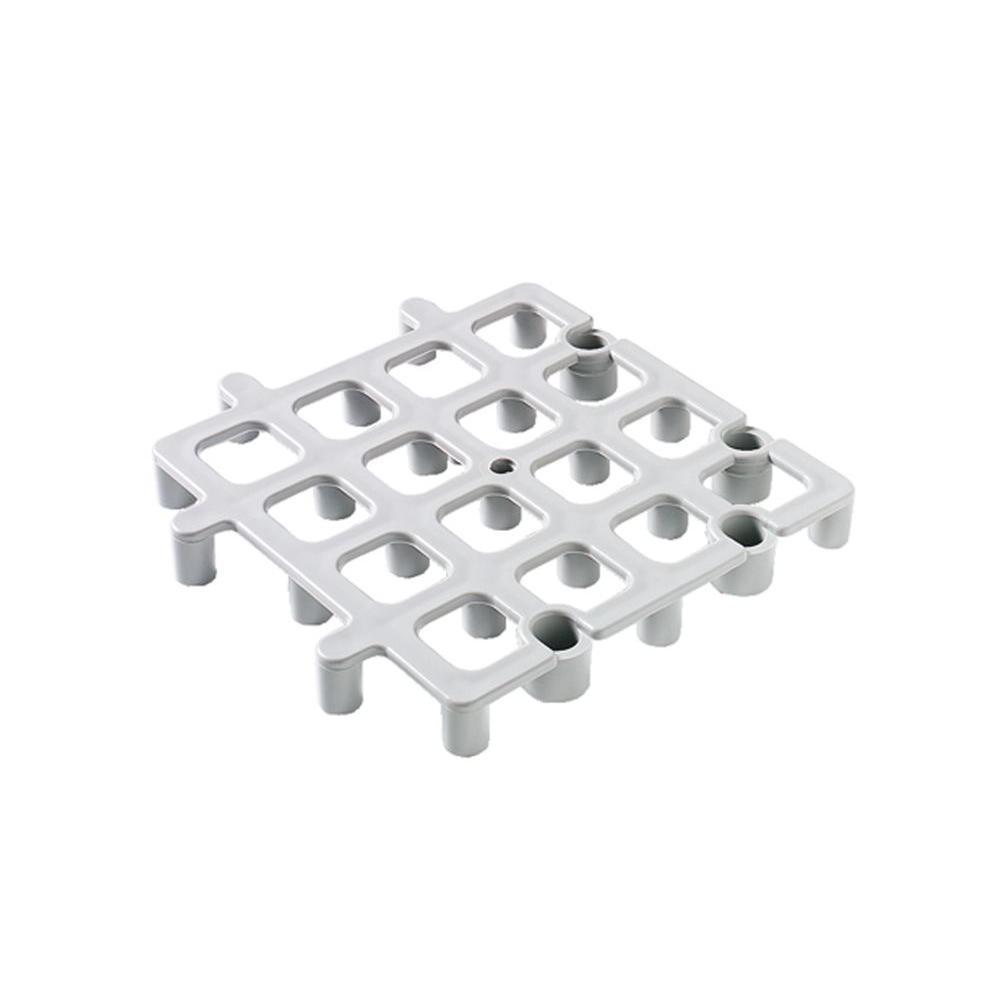 Carlisle 12 in. x 12 in. Floor Rack System in Gray (Case of 12)