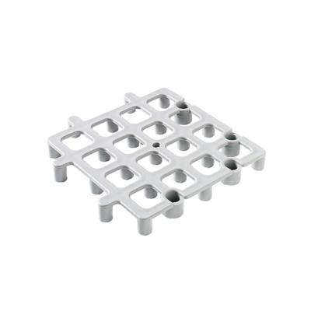 12 in. x 12 in. Floor Rack System in Gray (Case of 12)