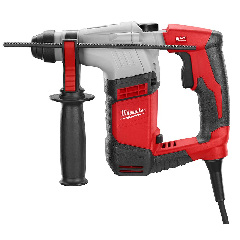 Milwaukee 5 Amp 8 In Corded Sds Plus Concrete Masonry Rotary Hammer Drill Kit With Case