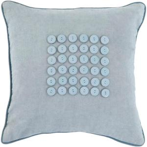 Click here to buy Artistic Weavers Button1 18 inch x 18 inch Decorative Down Pillow by Artistic Weavers.