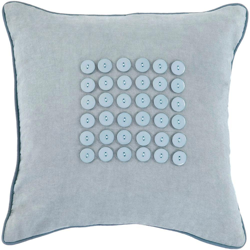 Artistic Weavers Button1 18 in. x 18 in. Decorative Pillow