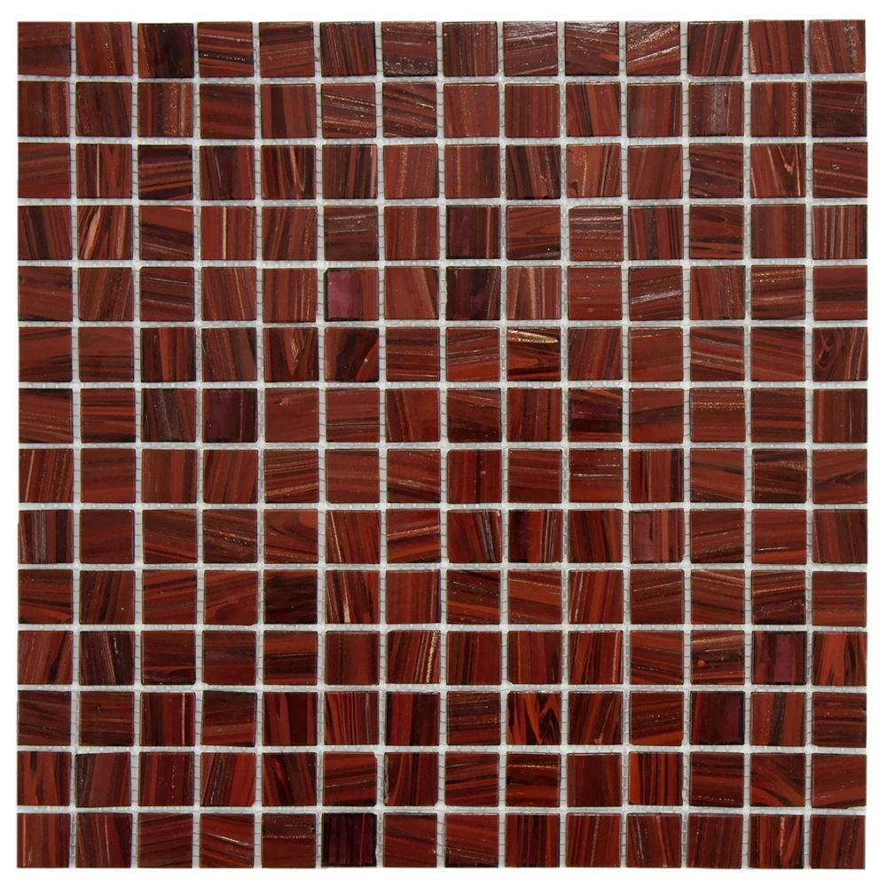 Merola Tile Coppa Auburn 12 In X 4 Mm Gl Mosaic Gdrcobur The Home Depot