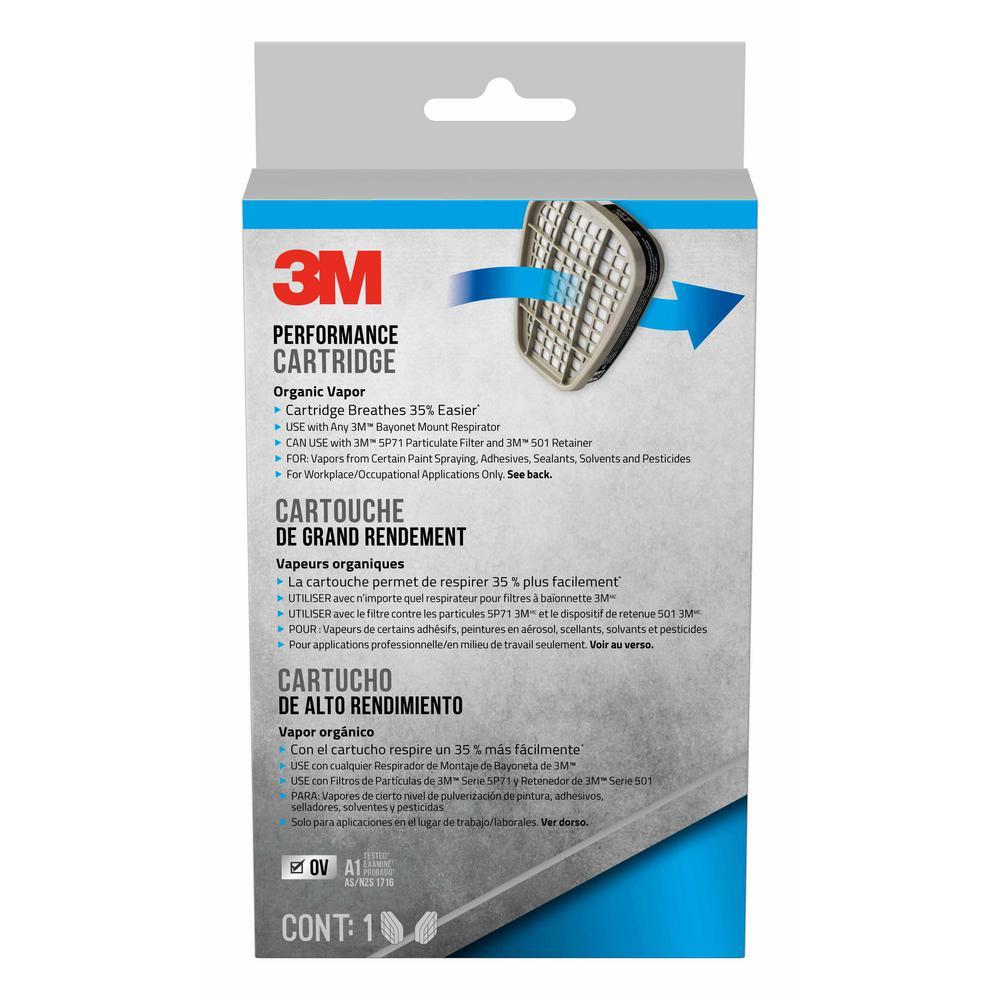 Performance Organic Vapor Replacement Respirator Cartridges (1-Pair/Pack)