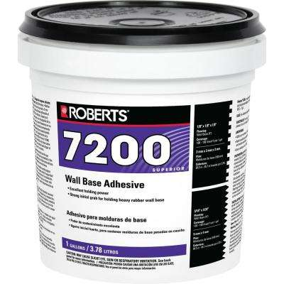 7200 1 Gal. Pail of Wall and Cove Base Adhesive