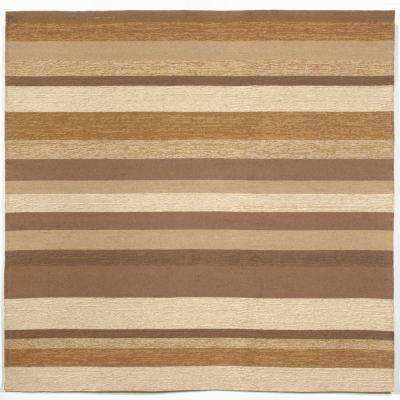 Beige - Square 7\' and Larger - Outdoor Rugs - Rugs - The Home Depot