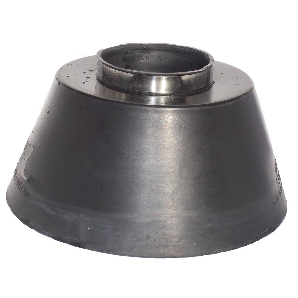 All Style Medium Standard Std Storm Pipe Flashing Collar Fits Nominal Pipe Size 3 In Dia 3 5 In O D Round Pipe 701162 The Home Depot