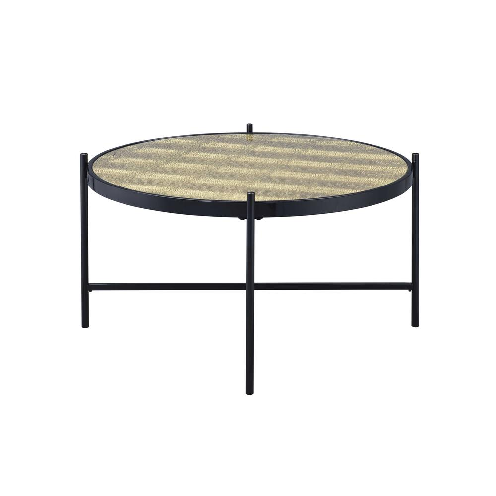 Taggert Black and Gold Coffee Table