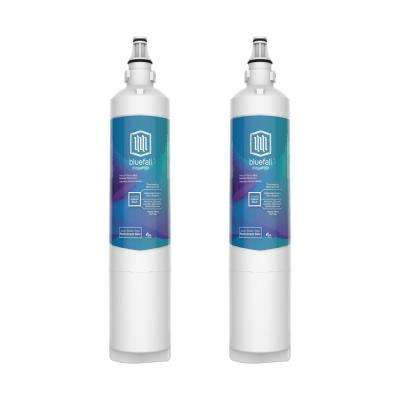 2 Compatible Refrigerator Water Filters Fits LG LT600P and Kenmore 46-9990 (Value Pack)