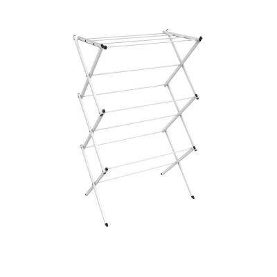 28.75 in. x 41.75 in. 3-Tier Freestanding Collapsible Drying Laundry Garment Rack
