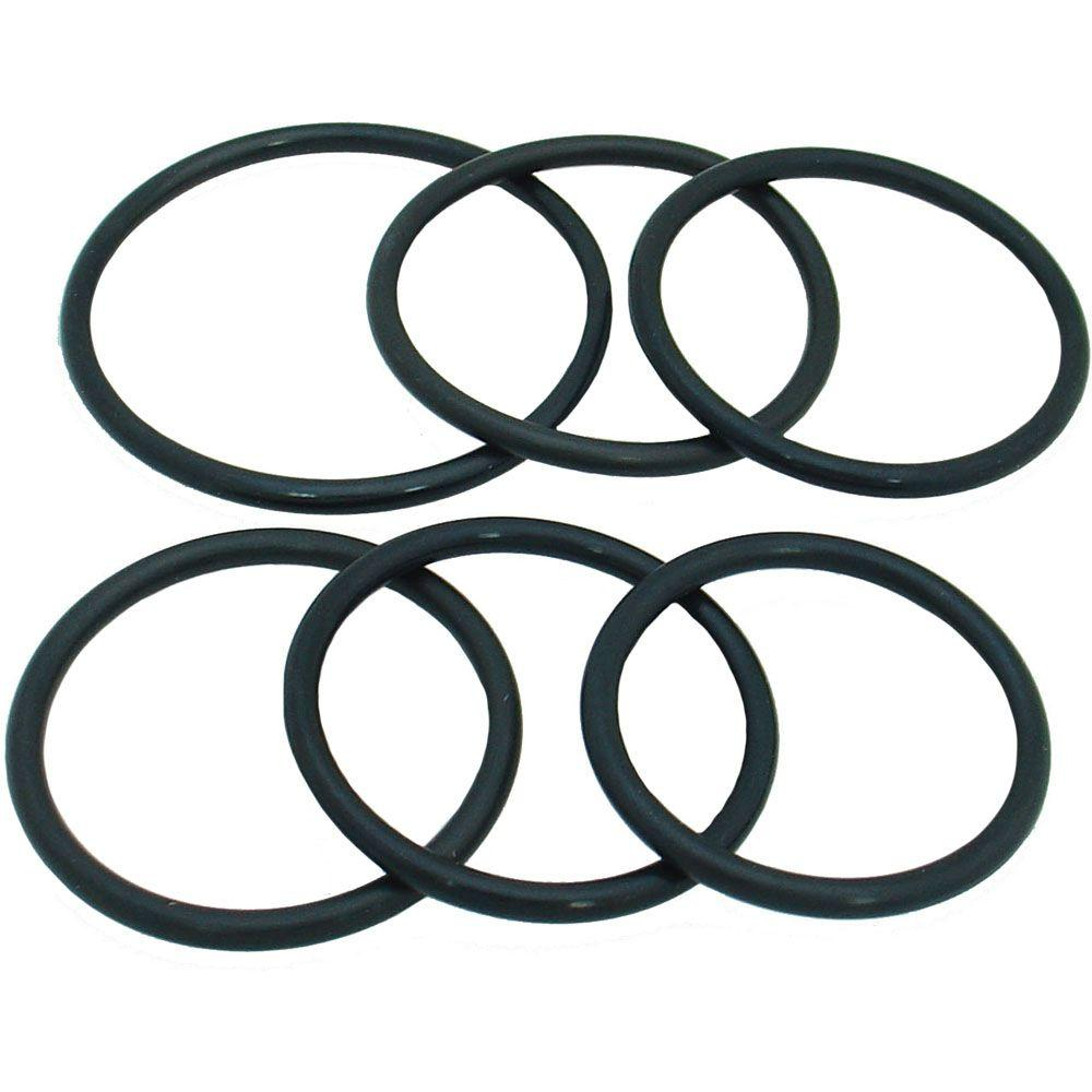 PartsmasterPro Large Rubber O-Ring Set #2 (6-Piece)-57001 - The Home ...