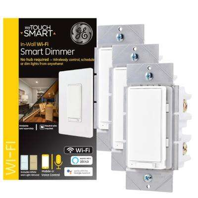 GE Wi-Fi In-Wall Smart Light Dimmer (3-pack)