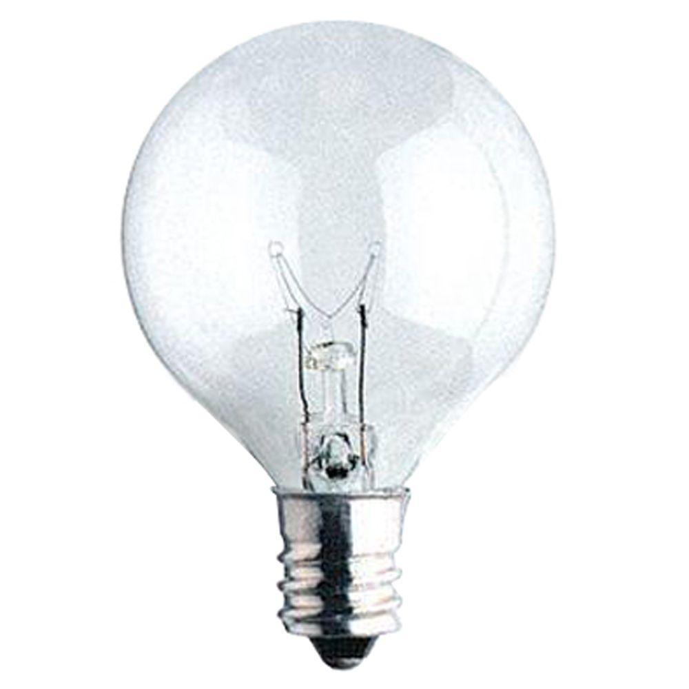60-Watt Krypton Halogen G16.5 Light Bulb (4-Pack)