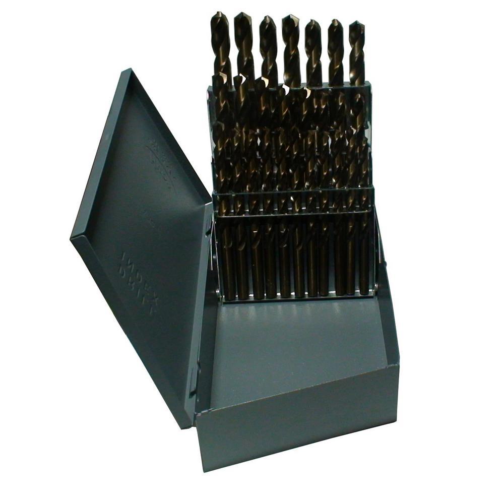 m42 Cobalt Jobber Drill Bit Set (26-Pieces)