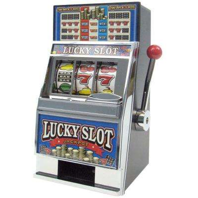 Lucky Slot Machine Bank