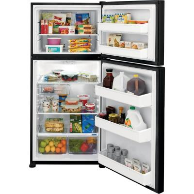 18.3 cu. ft. Top Freezer Refrigerator in Black