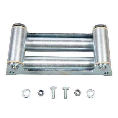 4-Way Roller Fairlead with Off Road Light Mounts