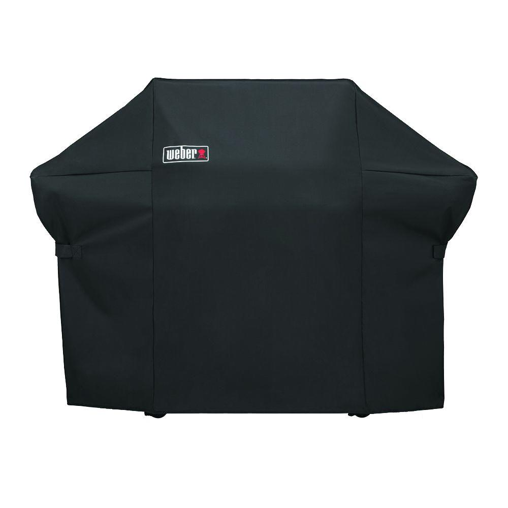 Weber Summit 400 Gas Grill Cover,  Black