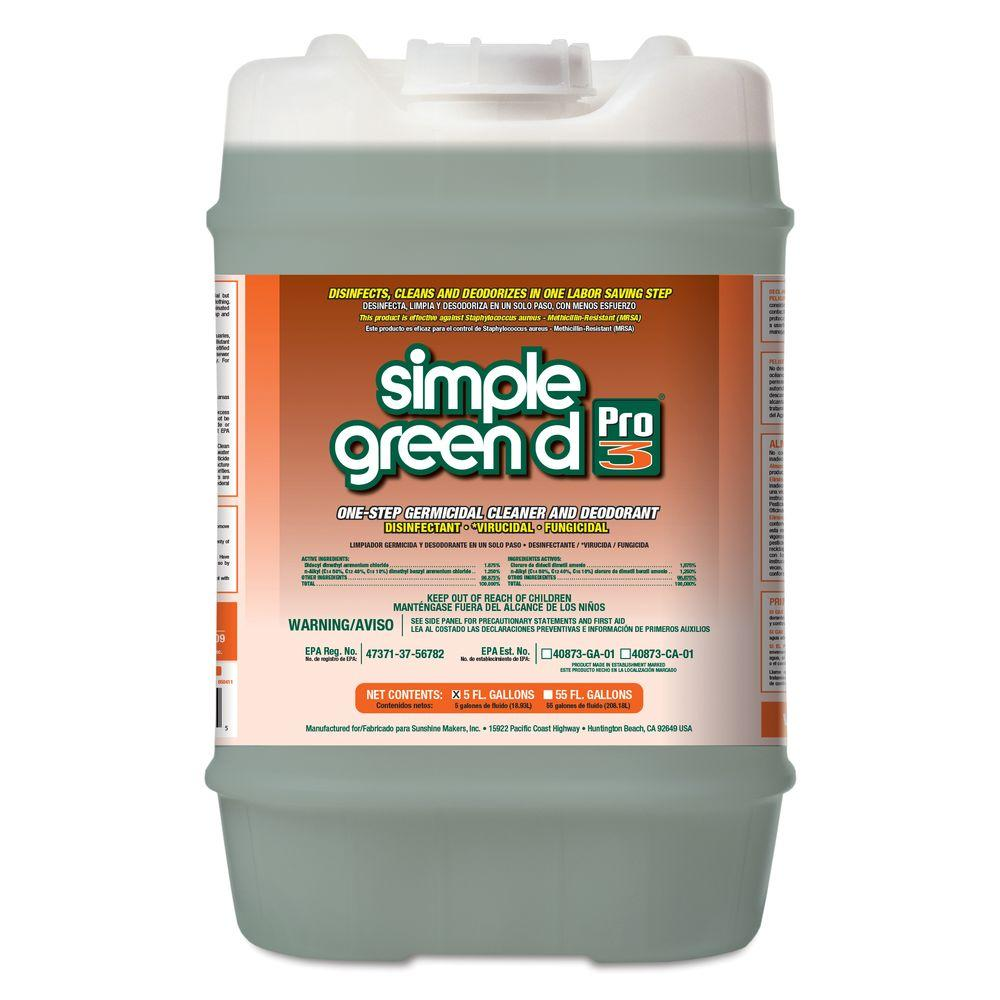 Simple Green 5 Gal. Pro 3 Disinfectant