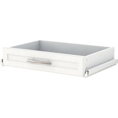 4.5 in. x 24 in. Customizable Organization System Shallow Closet Drawer