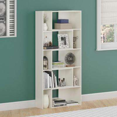 Transform White Expandable Open Bookcase